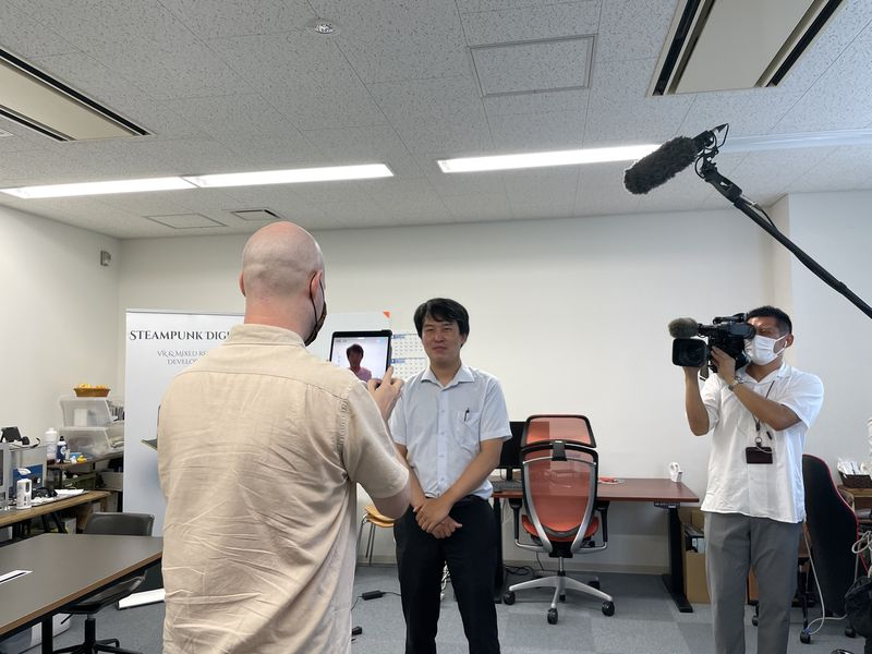 """Steampunk Digital will be featured in an interview on NHK Fukuoka's news program """"Rokuichi! on the 9th of July!"""